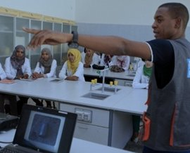 Libya Tawergha IT training e-learning